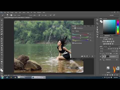 Colour Tone Using Apply Image In Photoshop