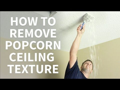 DIY How To Remove Popcorn Ceiling Texture Like A Contractor
