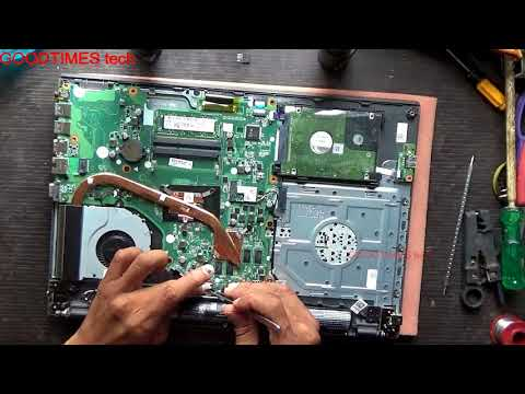 Acer ASPIRE E15 Series Laptop | How to replace HDD or SSD.