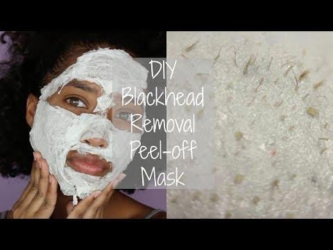 Easy DIY Black Head Remover Peel-Off Mask  Tatyana Celeste ❤︎