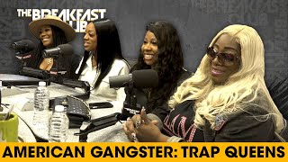 Trap Queens Discuss Their Scam Stories, Revelations + BET Show American Gangster