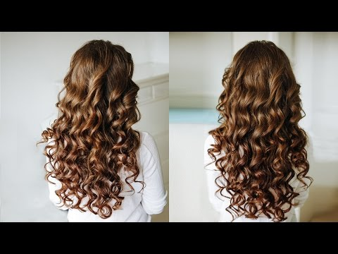 Big Voluminous Hollywood Hair /  Sexy curls / Hairstyles  tutorial with explanations