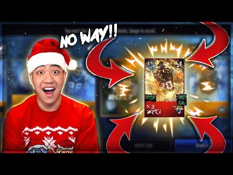 WE PULL A GHOST OF MADDEN PLAYER IN A PACK!! MADDEN MOBILE 18 CHRISTMAS & GOM BUNDLE OPENING!!
