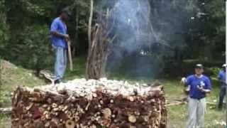 Quicklime Production - Jamaica - Trelawny Parish