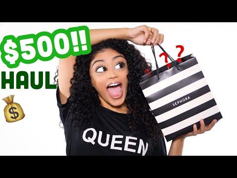 $500 SEPHORA HAUL | jasmeannnn