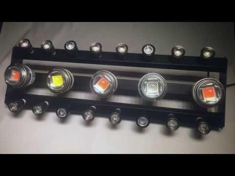 Wicked Grow Light LED 500W Actual Power Epistar & Cree COB CXA Enhanced Full Spectrum HD