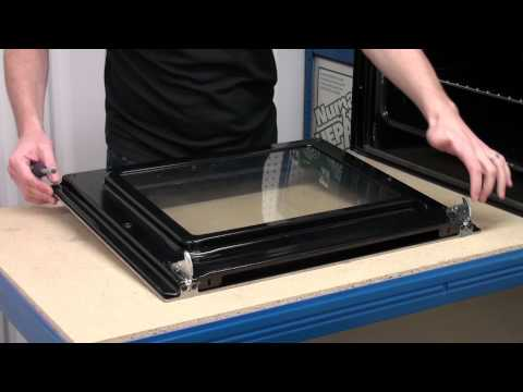 How To Replace The Door Glass On An Oven