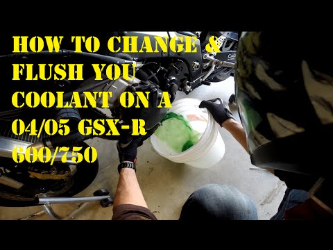 How To Change &  Flush Your Coolant