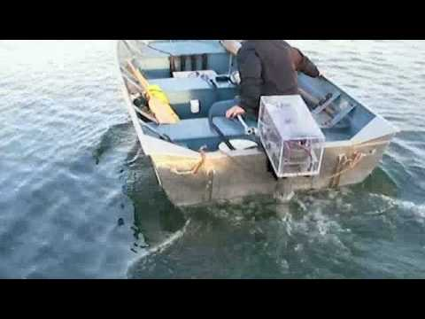 Electric Outboard first in water test