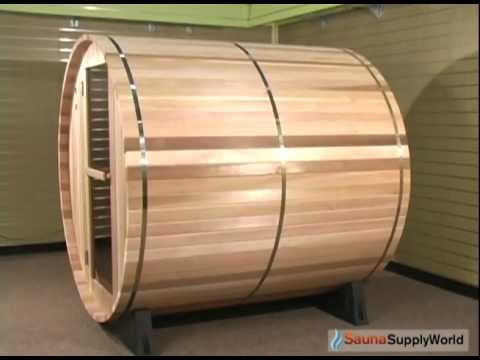 Product Tour: Almost Heaven Cedar Barrel Sauna