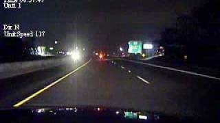 Dashcam - Fatal Motorcycle Pursuit In Texas
