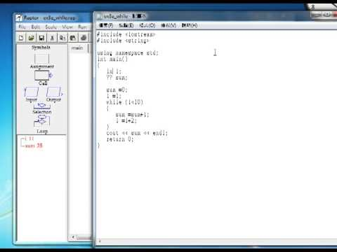 Generate C++ in Raptor and run on online compiler
