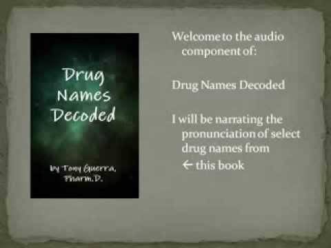 Drug Names Decoded - Chapter 1 GI