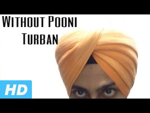 Turban without pooni simple clean Turban By Harpreet singh 2017