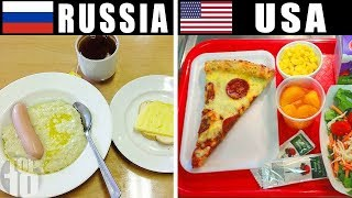 What School Meals Look Like Around The World