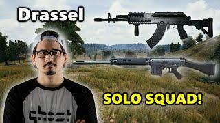 Drassel - SOLO SQUAD! - Beryl M762 + SLR - PUBG