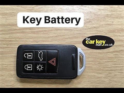 Key Battery Volvo Smart Key