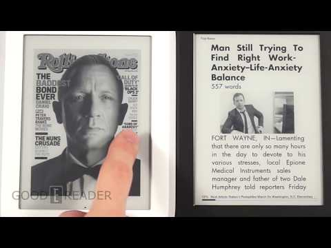 Nook Glowlight vs Amazon Kindle Paperwhite 2