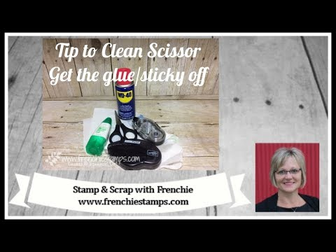 How to Clean Your Scissor