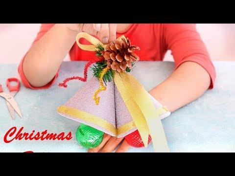 How to make Christmas bells || DIY Christmas Bells || 12 DIYs of Christmas 2017