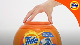 Tide PODS® Safety | Opening the New Tide PODS® Child-Guard™ Tub Safely