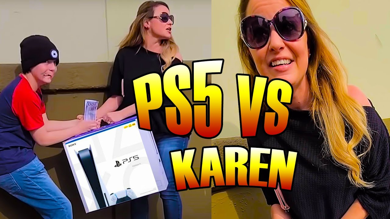 Karen Steals PlayStation 5 - To Catch A Thief   American Justice Warriors