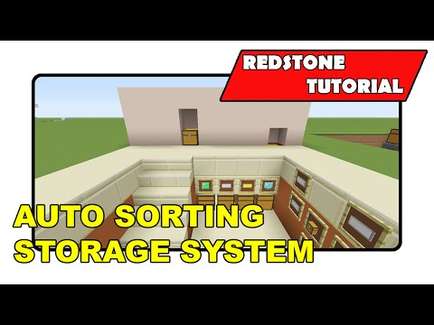 Auto Sorting Storage System [Simple]