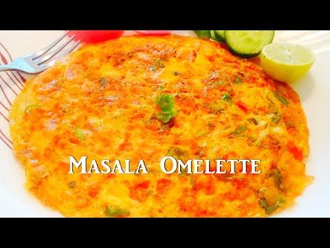Masala Egg Omelette Recipe / Quick Egg Omelette / Tasty Appetite