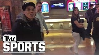 AMANDA NUNES Celebrates after Beating Ronda ... THIS BUD'S FOR ME!!! | TMZ Sports