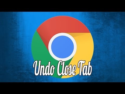 How to Restore Recently Closed Tabs in Chrome