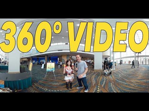 360° Raychul Moore Cosplay Video! - LA Cosplay Con 2016