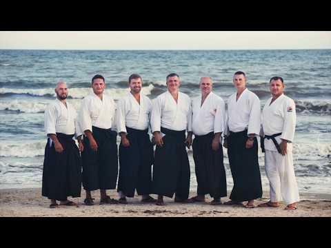 Aikido Yoshinkai Ukraine  Показательные выступления в Рыбаковке 2