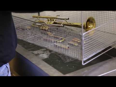 Ultrasonic Musical Instrument Cleaning at Paul Effman Music and Hyson Music