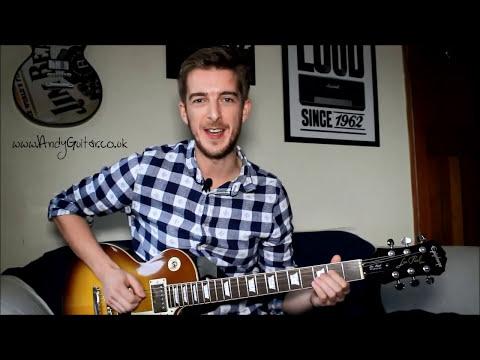 Easy Rock Power Chords FOR BEGINNERS!