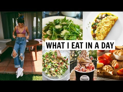 WHAT I EAT IN A DAY 2018 (healthy / how I stay in shape) l Olivia Jade