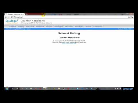Setting Browser Google Chrome