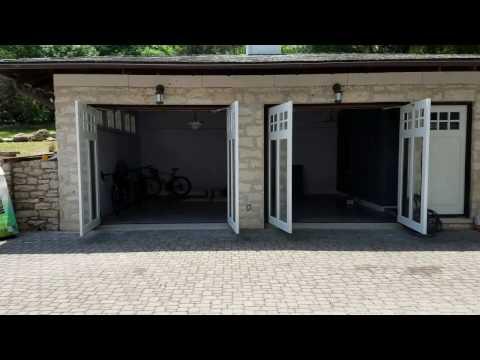 Custom Swing Out Garage Door