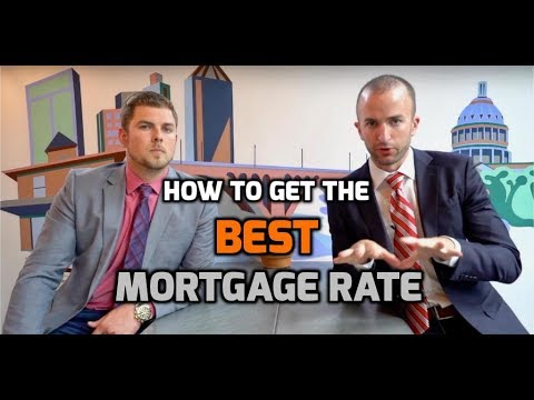 How to Get the BEST MORTGAGE RATE | Tips on How to Get a Low Mortgage Rate
