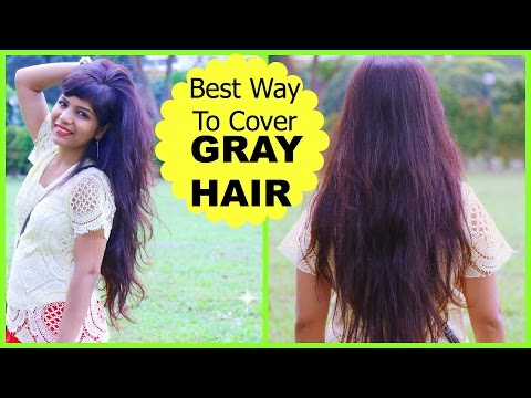 Best Way To Cover GRAY HAIR, How to Mix Henna Mehendi for Hair | SuperPrincessjo