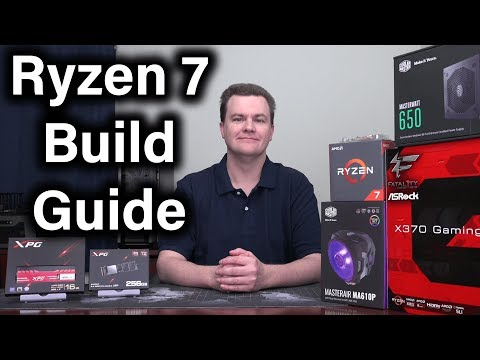 Ryzen 7 Build Guide & Giveaway - Which Parts Should You Choose?