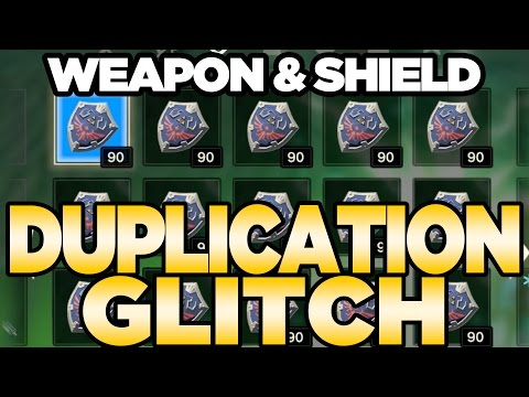 Weapon & Shield Duplication Glitch for Breath of the Wild | Austin John Plays