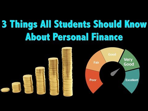 3 Personal Finance Lessons All Students Need to Know