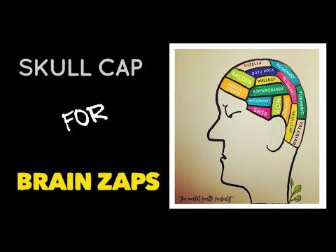 Do you suffer brain zaps? Skull cap can help #tip8