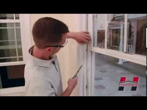 How to Replace the Balance on Your Harvey Double Hung Window