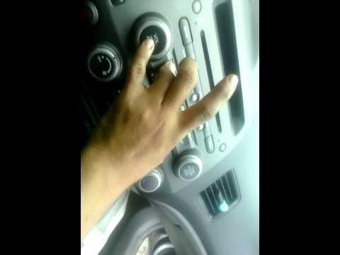 Desbloqueo de cd honda sin códigos