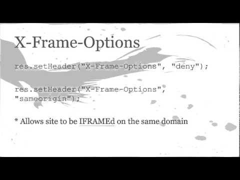 Node.js Express AWS Web Security Best Practices [Presentation]