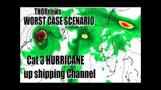 Cat 3 Hurricane in HOUSTON TEXAS June 15th - WORST CASE SCENARIO
