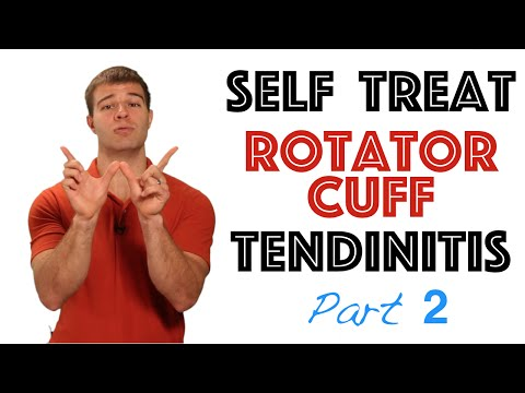 How to Self Treat Rotator Cuff Tendonitis in the Baseball Player