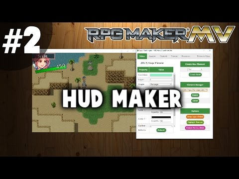 HUD Maker Tutorial #2 - Text, Shape, and Images