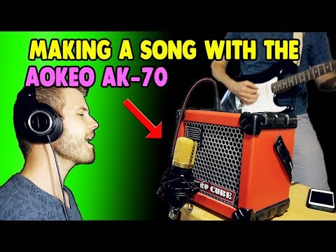 Making a Song with the Aokeo AK-70 Microphone ($30)